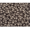 Ponybead 6/0 Metallic Brown Matte Terra Colour